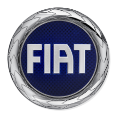 Fiat Logo (front) for Fiat and Fiat Professional