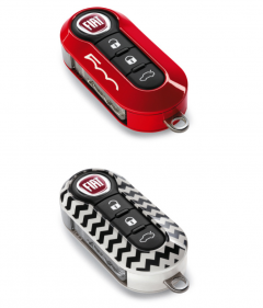 Car key cover kit for Fiat 500