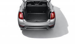 Rear boot moulded liner with logo for Fiat 500X