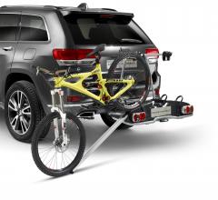Ramp for e-bike carrier