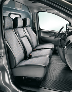 Protective cover for passenger seat for Fiat Professional Scudo