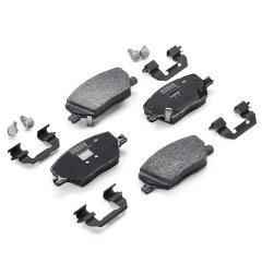Rear Disc Brake Pad (Set of 4) for Fiat Sedici