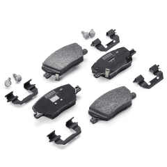 Front Disc Brake Pad (Set of 4) for Jeep