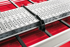 Roof rack load stop blocks for Fiat and Fiat Professional