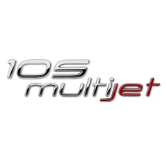 105 Multijet Logo (rear) for Fiat and Fiat Professional