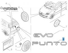 Rear for Fiat Punto Evo