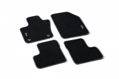 Carpet Mats With 500 Logo Without Pin On Passenger Side From Chassis Zfa3340000P766417 (RHD)