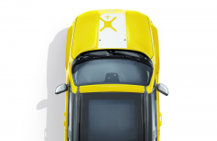 Set of white ''snowboard'' bonnet and body decals