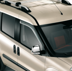 Front wind deflectors noise reduction for Fiat and Fiat Professional Doblo