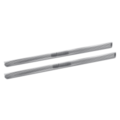 Grey front door sill strips with logo for Lancia Ypsilon
