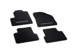 Premium carpet mats for car (black)