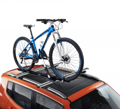 Vertical bike carrier