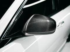 Rearview mirror covers in carbon fiber carbon fiber for Alfa Romeo Giulietta
