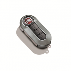 Dark grey key cover for Fiat and Fiat Professional