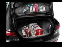 Luggage compartment retaining net for Alfa Romeo 159