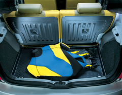 Semi-rigid protection for car boot for Fiat Panda