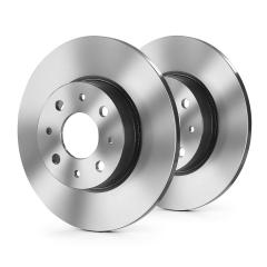 Rear brake disc for Alfa Romeo